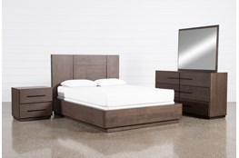 Orwell Eastern King Panel 4 Piece Bedroom Set