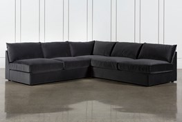 """Marcel 3 Piece 114"""" Sectional By Nate Berkus And Jeremiah Brent"""