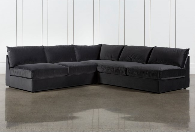 Marcel 3 Piece Sectional By Nate Berkus And Jeremiah Brent - 360