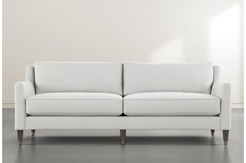Ames White Sofa By Nate Berkus And Jeremiah Brent