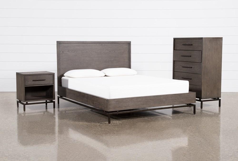Haynes Queen Platform 3 Piece Bedroom Set