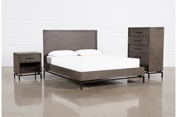 Haynes Queen Platform 3 Piece Bedroom Set