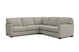 Magnolia Home Dweller Homespun Baltic 3 Piece Sectional By Joanna Gaines