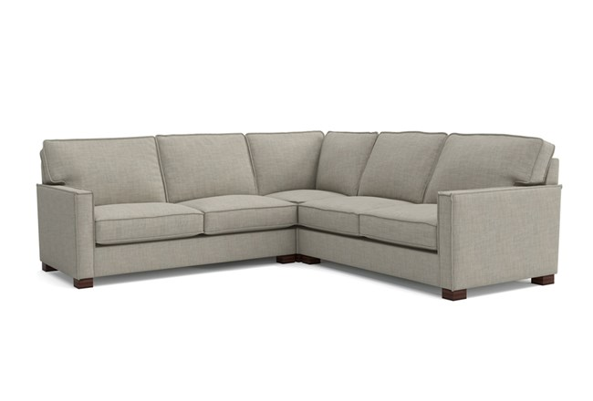 Magnolia Home Dweller Homespun Baltic 3 Piece Sectional By Joanna Gaines - 360