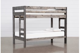 Durango Grey Twin Over Twin Bunk Bed