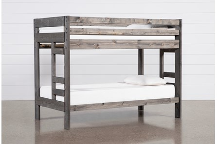 Durango Grey Twin Over Twin Bunk Bed - Main