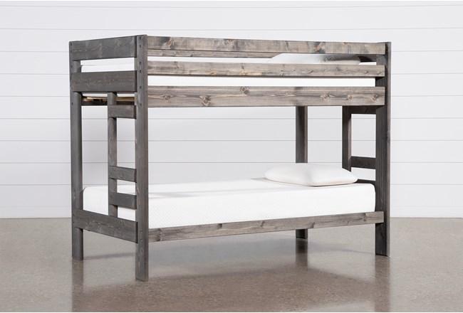 Durango Grey Twin Over Twin Bunk Bed - 360
