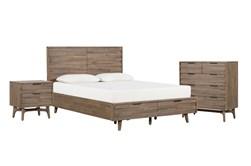 Caleb Queen Storage 3 Piece Bedroom Set