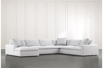 "Utopia 4 Piece 158"" Sectional With Left Arm Facing Chaise"