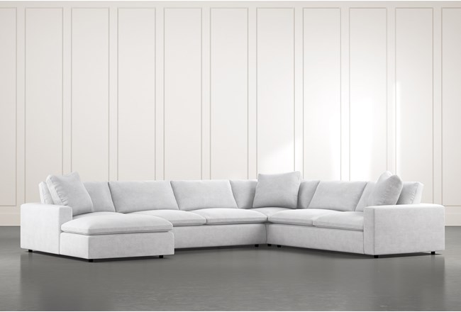 Utopia 4 Piece Sectional With Left Arm Facing Chaise - 360