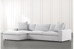 "Utopia 2 Piece 122"" Sectional With Left Arm Facing Chaise"