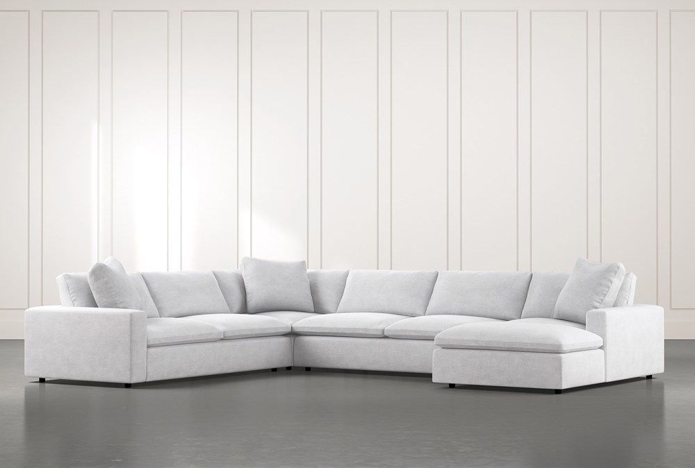 Utopia 4 Piece Sectional With Right Arm Facing Chaise