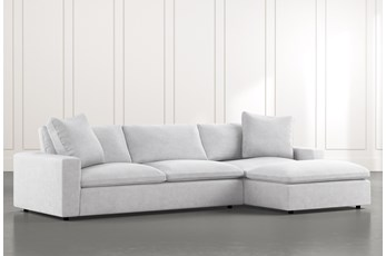 "Utopia 2 Piece 122"" Sectional With Right Arm Facing Chaise"