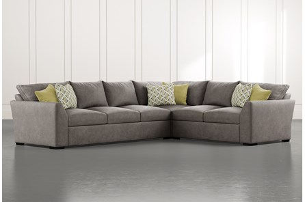 Cohen Foam II 2 Piece Sectional With Left Arm Facing Sofa
