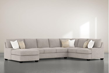 """Harper Down II 3 Piece 157"""" Sectional With Left Arm Facing Chaise"""