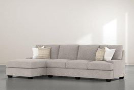 """Harper Down II 2 Piece 124"""" Sectional With Left Arm Facing Chaise"""
