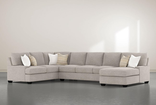 """Harper Down II 3 Piece 157"""" Sectional With Right Arm Facing Chaise - 360"""