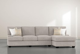 """Harper Down II 2 Piece 124"""" Sectional With Right Arm Facing Chaise"""