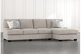 "Harper Down II 2 Piece 124"" Sectional With Right Arm Facing Chaise"