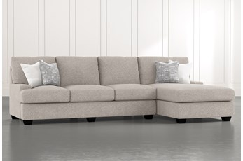 Harper Down II 2 Piece Sectional With Right Arm Facing Chaise