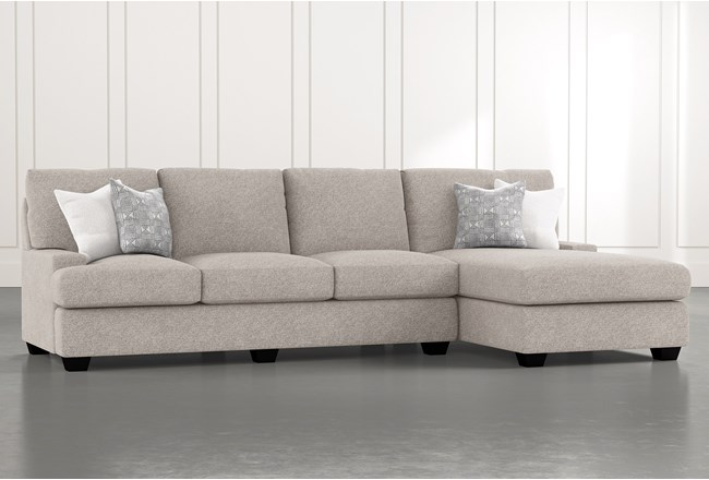 "Harper Down II 2 Piece 124"" Sectional With Right Arm Facing Chaise - 360"
