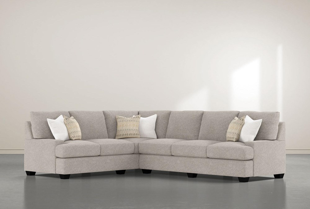"""Harper Down II 2 Piece 125"""" Sectional With Right Arm Facing Sofa"""