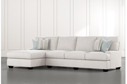 Harper Foam II 2 Piece Sectional With Left Arm Facing Chaise