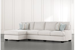 "Harper Foam II 2 Piece 124"" Sectional With Left Arm Facing Chaise"