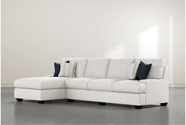 """Harper Foam II 2 Piece 124"""" Sectional With Left Arm Facing Chaise"""