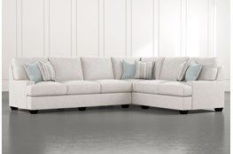 "Harper Foam II 2 Piece 125"" Sectional With Left Arm Facing Sofa"