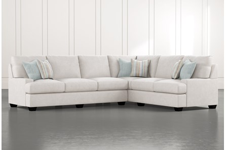 Harper Foam II 2 Piece Sectional With Left Arm Facing Sofa - Main