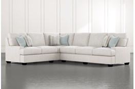 "Harper Foam II 2 Piece 125"" Sectional With Right Arm Facing Sofa"