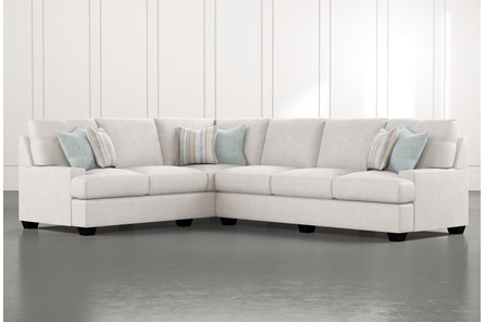 Harper Foam II 2 Piece Sectional With Right Arm Facing Sofa