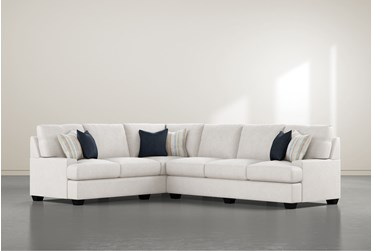 """Harper Foam II 2 Piece 125"""" Sectional With Right Arm Facing Sofa"""