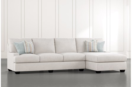 Harper Foam II 2 Piece Sectional With Right Arm Facing Chaise