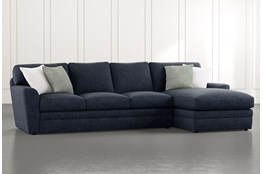 Prestige Foam 2 Piece Sectional With Right Arm Facing Chaise