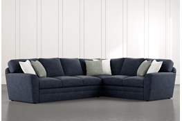 "Prestige Foam 2 Piece 129"" Sectional With Left Arm Facing Sofa"