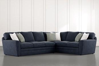 "Prestige Foam 2 Piece 129"" Sectional With Left Arm Facing Sofa"