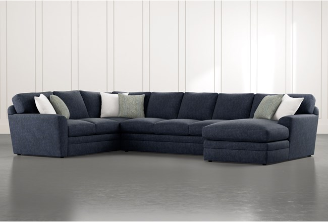 Prestige Foam 3 Piece Sectional With Right Arm Facing Chaise - 360