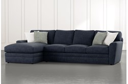 "Prestige Foam 2 Piece 126"" Sectional With Left Arm Facing Chaise"