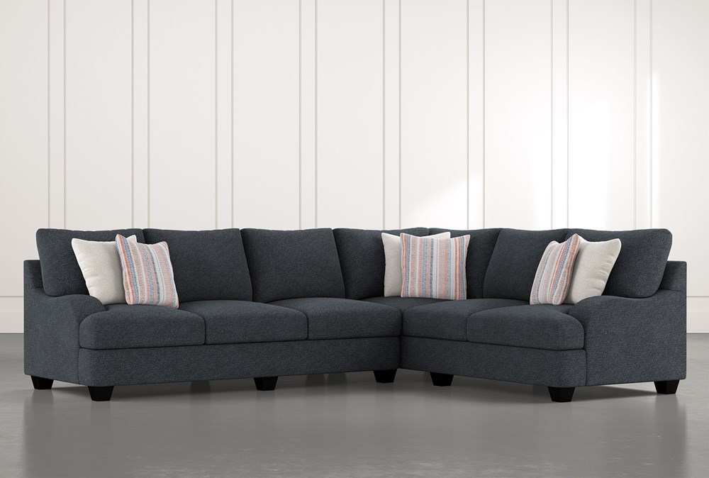 Sierra Down III 2 Piece Sectional With Left Arm Facing Sofa