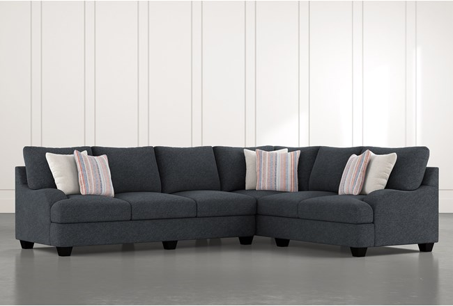 Sierra Down III 2 Piece Sectional With Left Arm Facing Sofa - 360