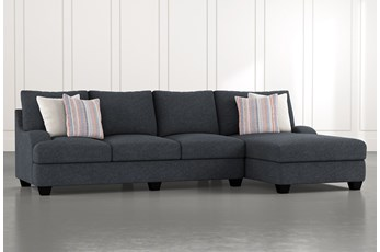 Sierra Down III 2 Piece Sectional With Right Arm Facing Chaise