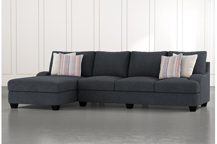 Sierra Down III 2 Piece Sectional With Left Arm Facing Chaise