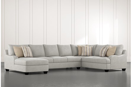 Sierra Foam III 3 Piece Sectional With Left Arm Facing Chaise