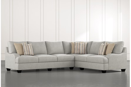 Sierra Foam III 2 Piece Sectional With Left Arm Facing Sofa