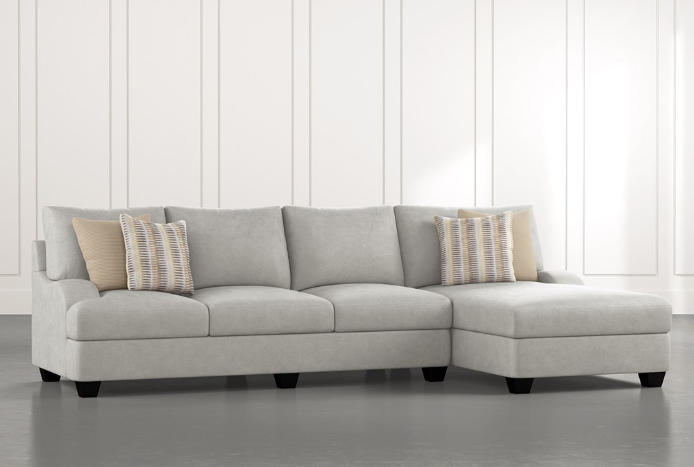 Sierra Foam III 2 Piece Sectional With Right Arm Facing Chaise