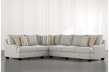 Sierra Foam III 2 Piece Sectional With Right Arm Facing Sofa