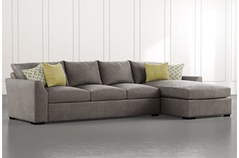 Cohen Foam II 2 Piece Sectional With Right Arm Facing Chaise