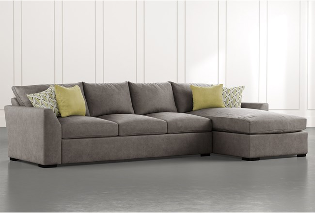 Cohen Foam II 2 Piece Sectional With Right Arm Facing Chaise - 360